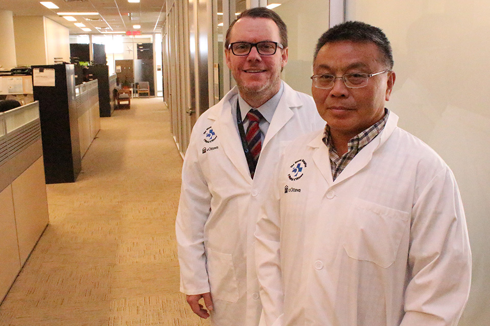 Dr. Mark Walker and Dr. Shi Wu Wen