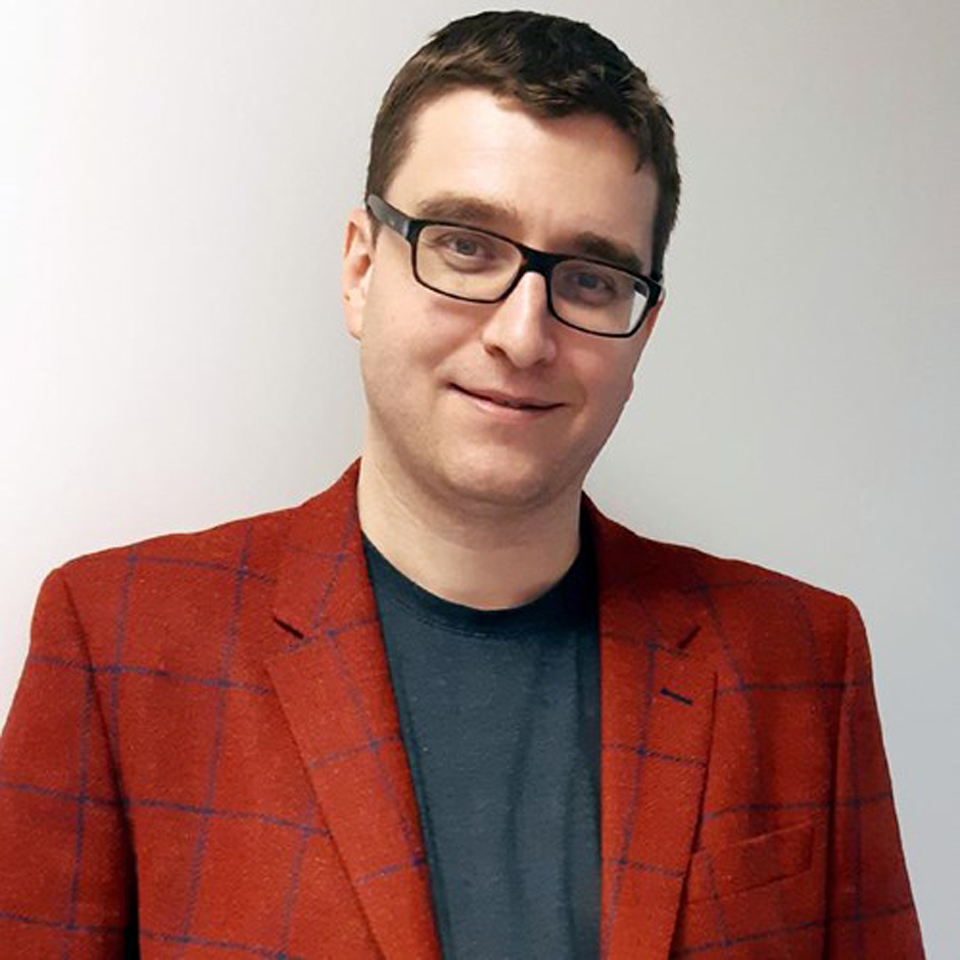 Photo of Dr. Dylan Burger