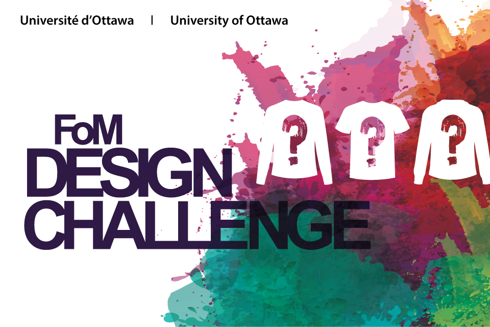 Graphic of the design contest logo.