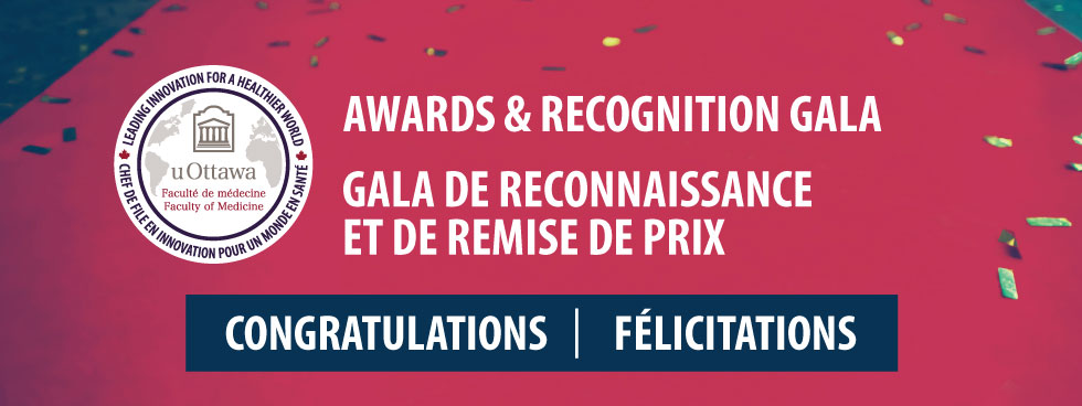 Banner image displaying Awards and Recognition Gala - Congratulations!