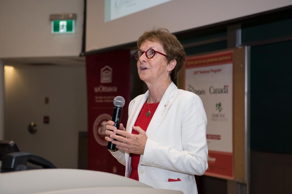 Dre Janet Rossant, présidente et directrice scientifique de la Fondation Gairdner.