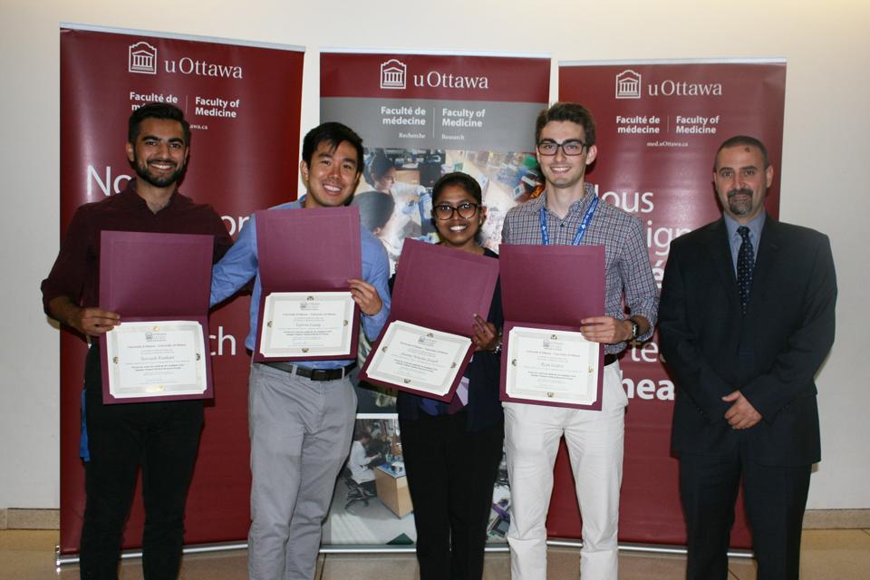 Les finalistes du Programme de spécialisation pour étudiants de 2017