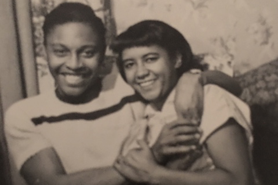 A photo of a young Dr. Charles Brimm and his wife Edith.