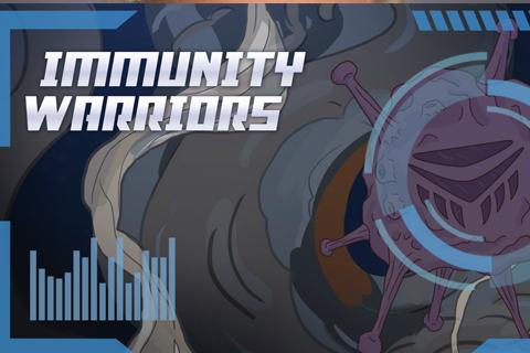 Immunity Warriors comic book
