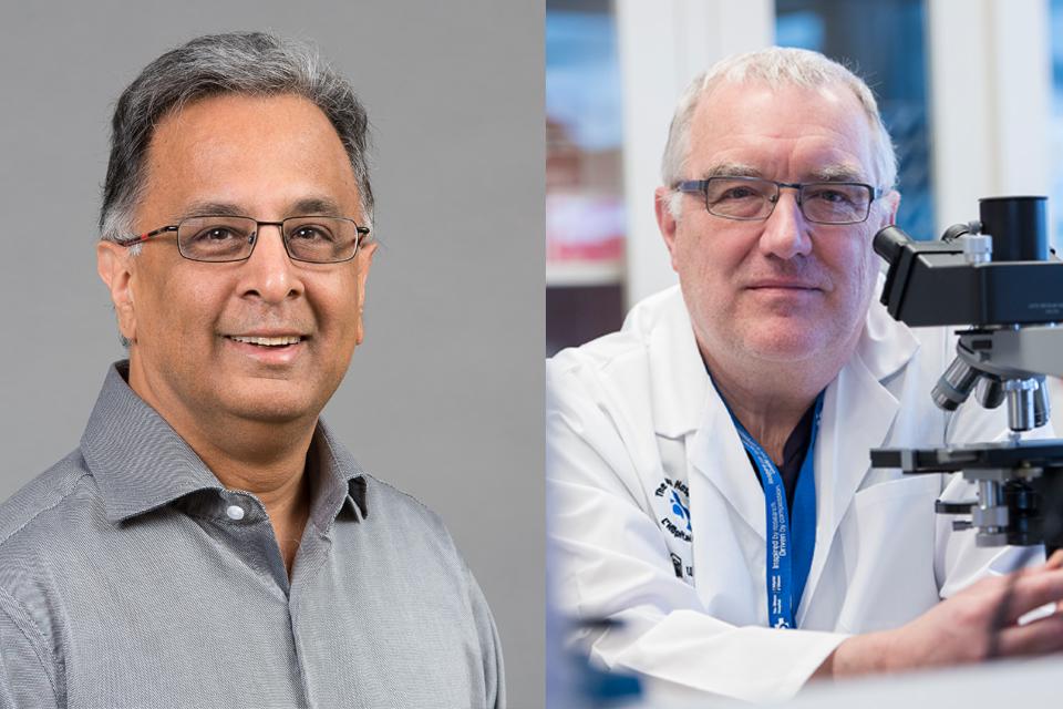 Photo de Dr Rashni Kothary et Dr John Bell