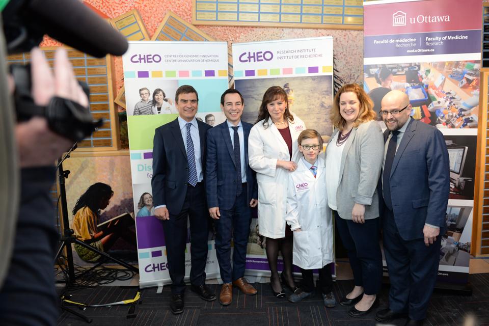 La Dre Kym Boycott occupera la direction générale du nouveau Centre d'innovation génomique dévoilé à l'Institut de recherche du Centre hospitalier pour enfants de l'est de l'Ontario