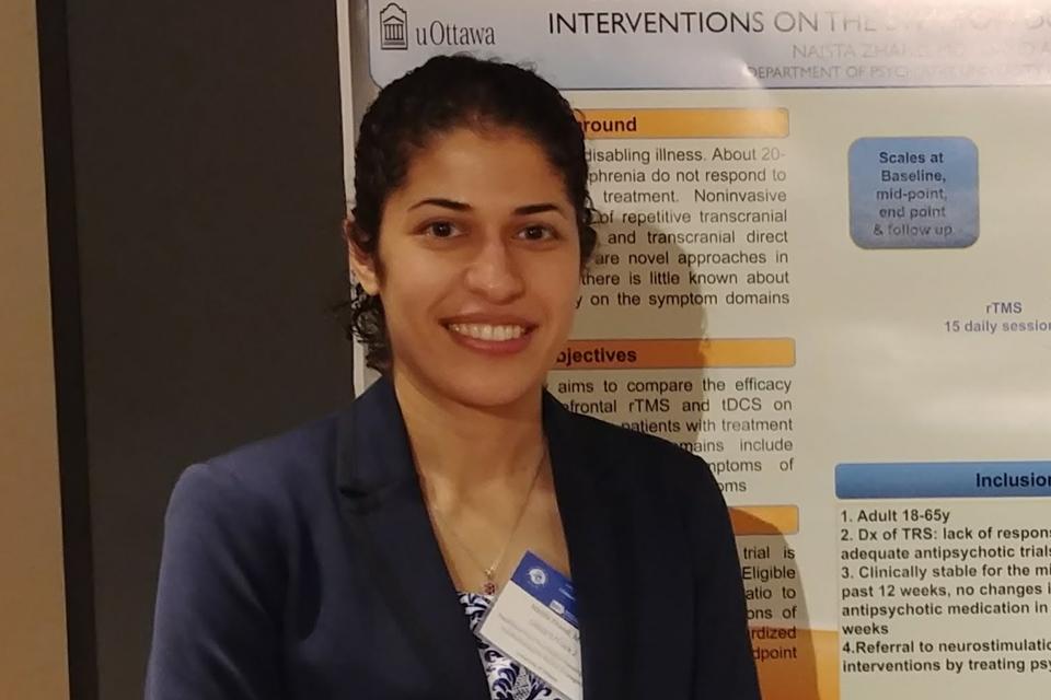 Photo of Dr. Naista Zhand
