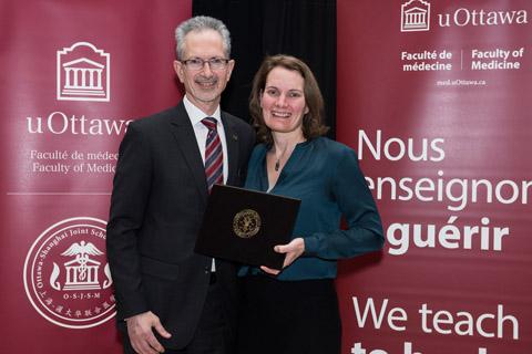Dean Jacques Bradwejn; Dr. Diane Lagace