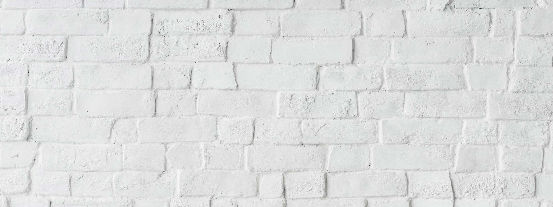 Un fond de briques blanches.