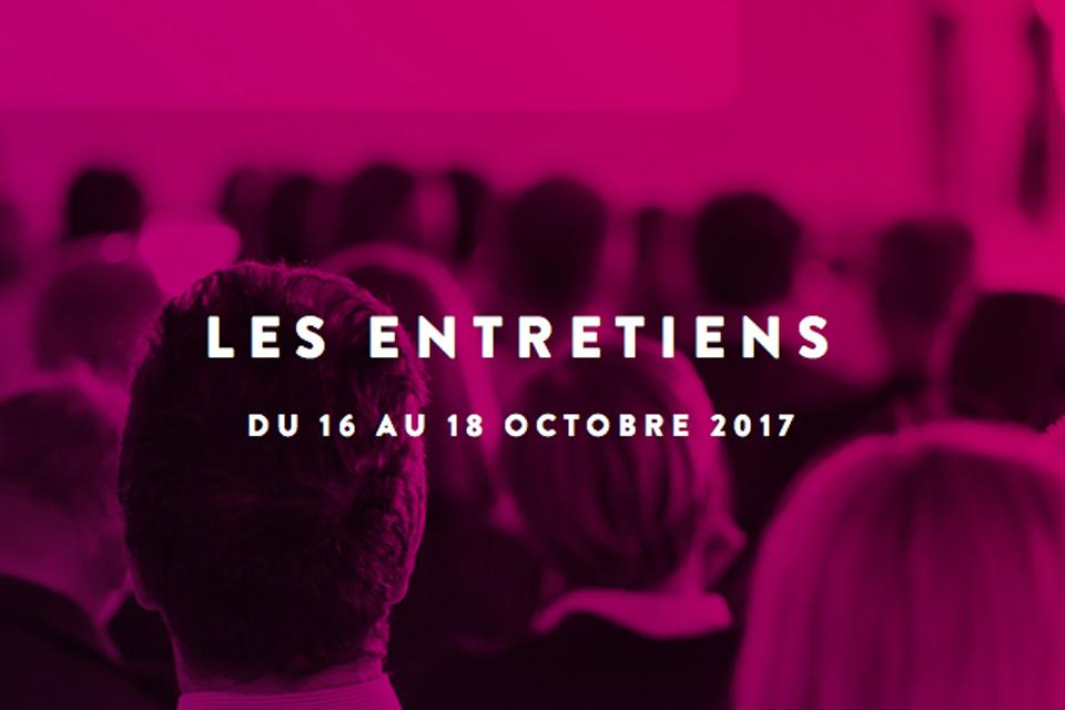 Affiche pour les Entretiens Jacques Cartier.