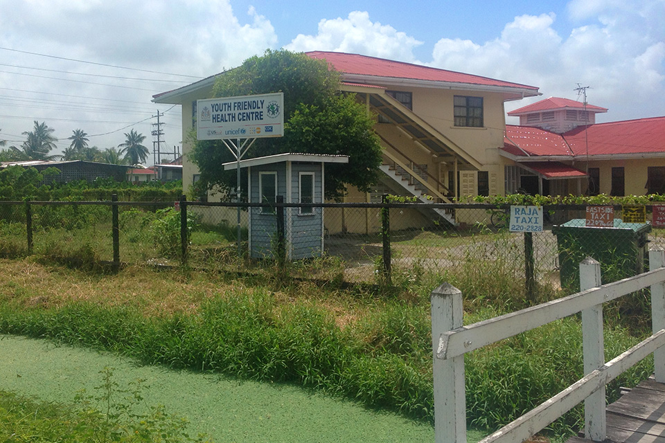 The youth friendly health centre in Georgetown Guyana