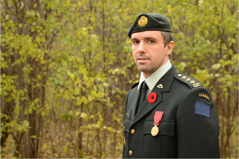Photo du Capitaine Vincent Laframboise