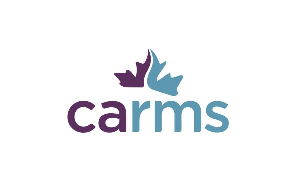 CaRMS logo.