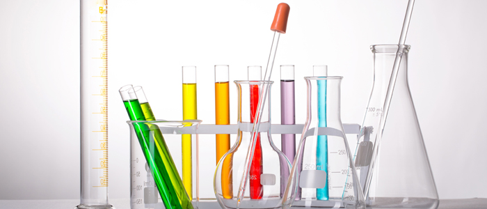 Collection of equipment commonly used in the molecular biology laboratory