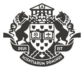 Les armoiries de l'université