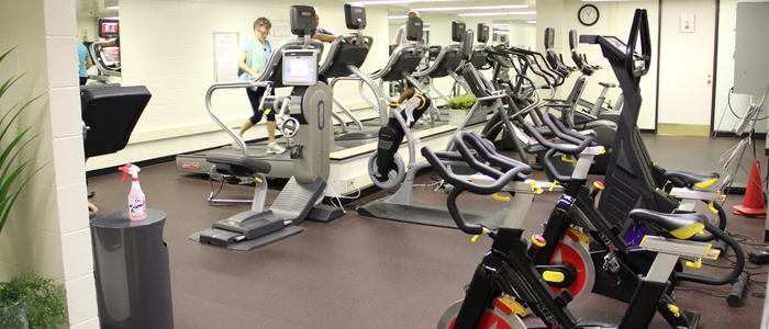 Cornwall Accommodations Fitness Centre