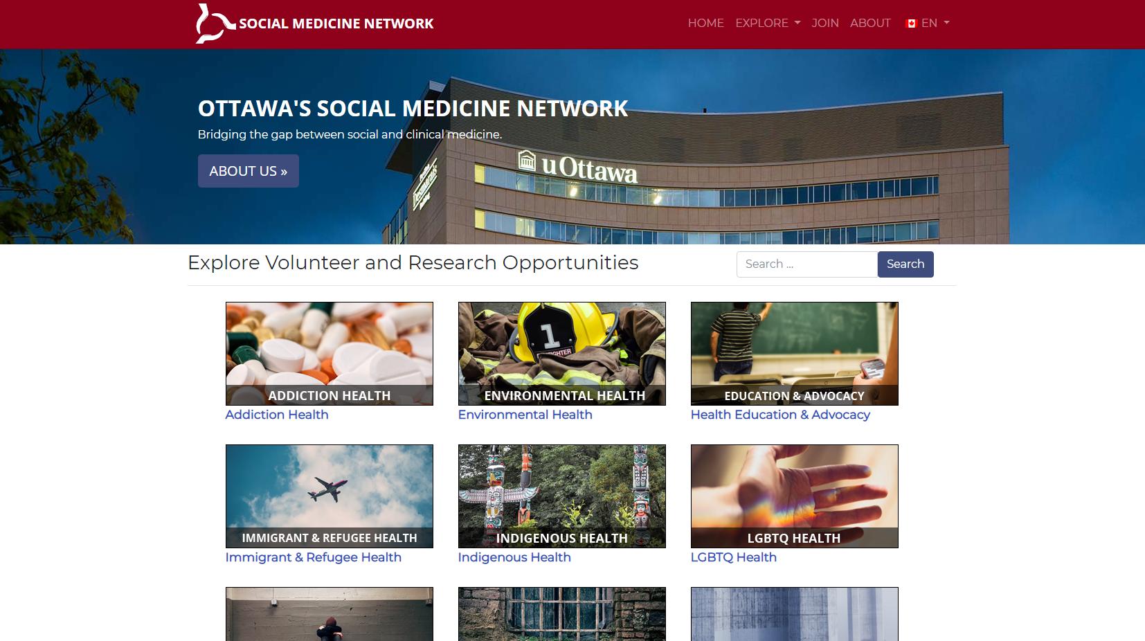 Socian Medicine Network screenshot